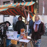 Compassiedag 2013 - Kraam op het Waagplein