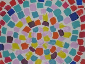 Schilderen met compassie - Mozaiek